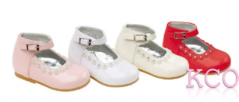 Style 8244 Pink~Girls Shoes